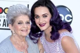 Katy Perry: Mi abuela no sabe de mi éxito