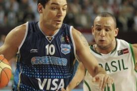 Argentina vs Brasil en vivo (82-77) -  Basketball Olimpiadas Londres 2012