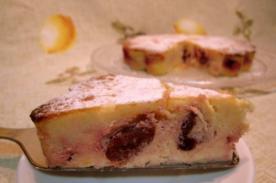 Receta de Julia Child: Postre Tarta de Cerezas