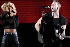 Coldplay y Rihanna en la clausura de los Juegos Paralímpicos Londres 2012