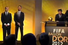 Video: Cómica parodia del histórico cuarto Balón de Oro de Lionel Messi