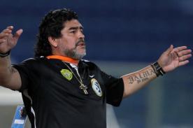 Maradona podría ser técnico de André Carrillo en el Sporting de Lisboa