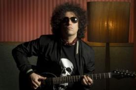 Andrés Calamaro ofrecerá concierto en Lima a fines de octubre