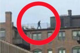Tragedia en Boston: Aparece sospechosa foto de un hombre en el tejado
