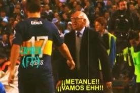 Video: Carlos Bianchi pide a sus jugadores pierna fuerte