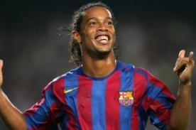 Video: Hace 10 años Ronaldinho le devolvió la sonrisa al Barcelona