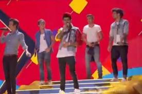 VIDEO: One Direction canta 'Best Song Ever' en los Teen Choice Awards 2013