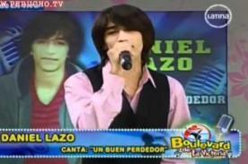 Antes de La Voz Perú, Daniel Lazo ganó concurso de 'Amor, amor, amor' - Video