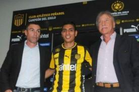 Paolo Hurtado fue presentado oficialmente en Peñarol de Uruguay - Video