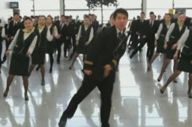 Chinos celebran el Año Nuevo Lunar con original 'Flashmob'