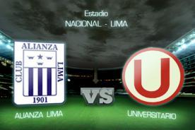 Universitario vs Alianza Lima: Precio de las entradas para el clásico peruano