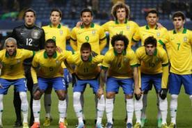 Mundial 2014: Brasil presentó sus nuevos uniformes de visita - FOTO