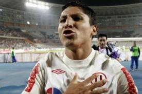 Copa Libertadores 2014: Raúl Ruidíaz espera cumplir promesa esta noche