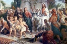 Semana Santa 2014: ¿Qué significado tiene Domingo de Ramos?