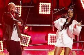 Video: Rihanna y Eminem cantaron 'The Monster' en los MTV Movie Awards