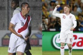 A qué hora juega Perú vs Inglaterra - Amistoso 30 de mayo (hora peruana)