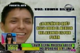 ¿Ofrecieron programa a Milena Zárate por hablar de Edwin Sierra? [VIDEO]