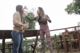VIDEO: Así se pelearon Paloma Fiuza y Diana Sánchez para PIPICUCÚ