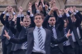 Estudiantes cantan a capela y mueven sus caderas al ritmo de Shakira [Video]