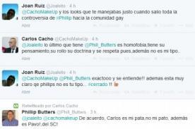 Carlos Cacho: Lo último que tiene Phillip Butters es homofobia