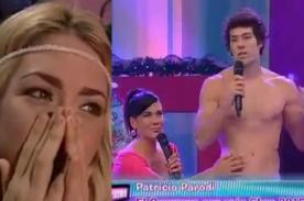 Sheyla Rojas explotó al ver a Daniela Cilloniz tocando a Patricio Parodi