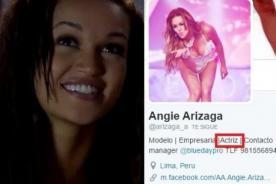 Twitter: ¡Angie Arizaga hace provocadora mención y detractores explotan! - FOTO