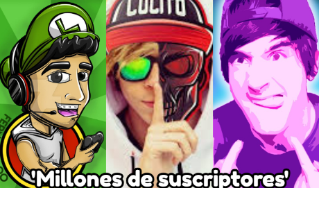 Los 5 youtubers con más suscriptores en el mundo