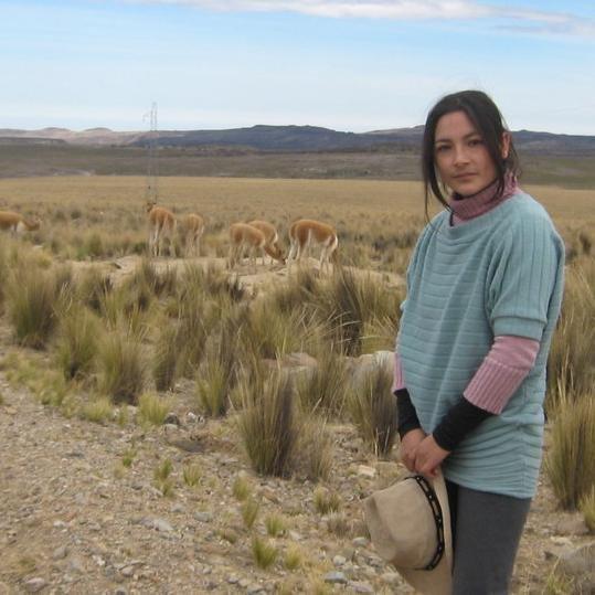 Magaly Solier difunde fotos de su nueva participación en una película nacional
