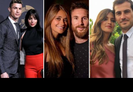 Así conocieron los futbolistas más famosos a sus parejas