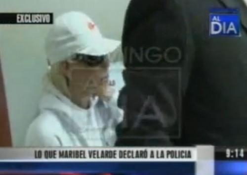 Video: Lo que Maribel Velarde declaró a la policía