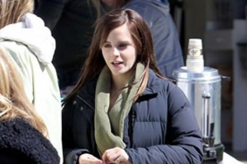 Emma Watson vuelve a lucir larga cabellera en nuevo filme (Fotos)