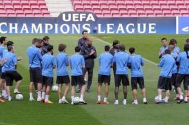 Barcelona vs Milán: Así entrenó el cuadro que dirige Josep Guardiola