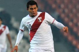 Fútbol peruano: Rinaldo Cruzado es duda para jugar ante Colombia