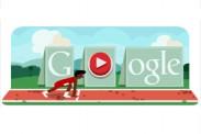 Atletismo, Vallas Londres 2012: Google te reta a una carrera con su Doodle