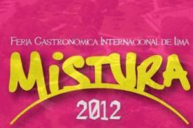 Mistura 2012: Precios de entradas con descuentos