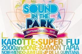 Sound in the Park: Todo listo para el festival
