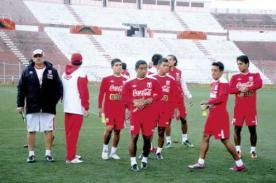 Fútbol peruano: Conoce el itinerario de Perú ante Bolivia