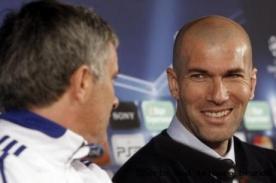 Real Madrid: Zinedine Zidane y José Mourinho peleados
