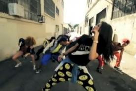 Zendaya se divierte enseñando sus pasos de Hip Hop- Video