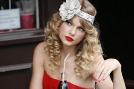 Taylor Swift será nueva imagen de Coca Cola Diet