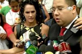 Kina Malpartida se altera: '¿Por qué me tocas?, te puedo enjuiciar' - Video