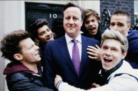 Primer Ministro de Reino Unido aparecerá en videoclip de One Direction