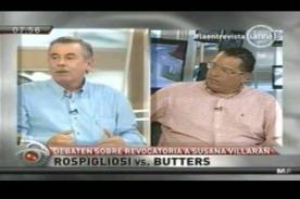 Phillip Butters y Fernando Rospigliosi debaten sobre la Revocatoria 2013