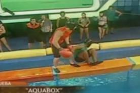 Combate: 'Pantera' Zegarra sufre aparatosa caída en vivo - Video