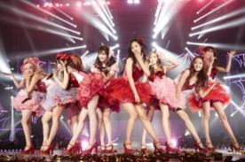 Girls Generation cautiva a sus 22 mil fans en concierto de Taiwán - Fotos