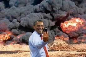 Ridiculizan a Obama con memes sobre conflicto en Siria