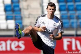 Gareth Bale confesó que no está en su mejor forma física