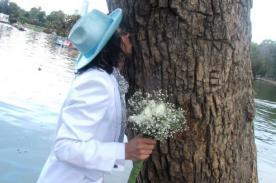 Richard Torres: Seré el único esposo de los árboles en toda Latinoamérica