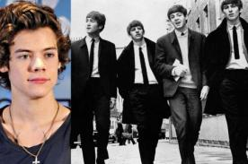 Harry Styles rechaza que One Direction se compare a The Beatles