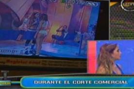 Bievenida La Tarde: Shirley Arica insulta a Melissa Paredes - Video